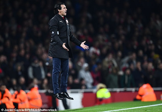 Arsenal manager Unai Emery is as passionate as a coach when she's on the line