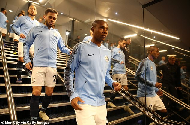 The only 19-year-old rice has similar characteristics as the Fernandinho of Manchester City