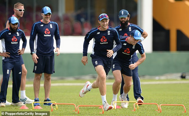 Root (center) has laid down a marker for a new era to begin without opening the batting