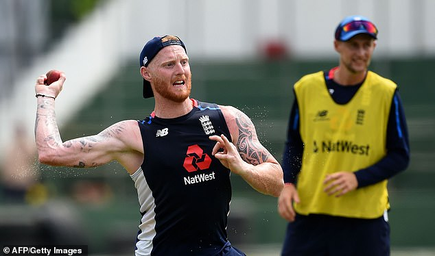 Ben Stokes throws the ball as England prepare for their opening test in Sri Lanka this week