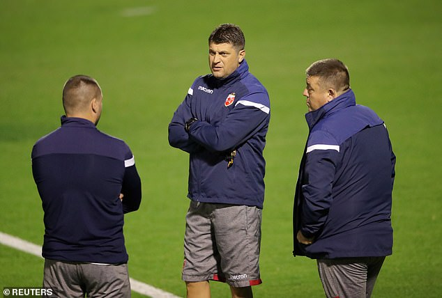 Boss Vladan Milojevic has kept an eye on his players as they annoy a shapeless Liverpool