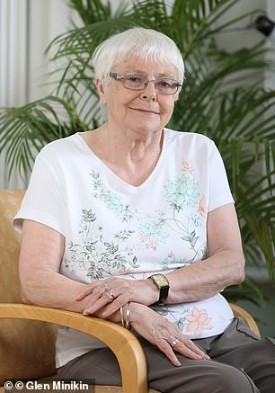 Patient: Elizabeth Cozens, 78, a retired manager from Manchester, had cancer