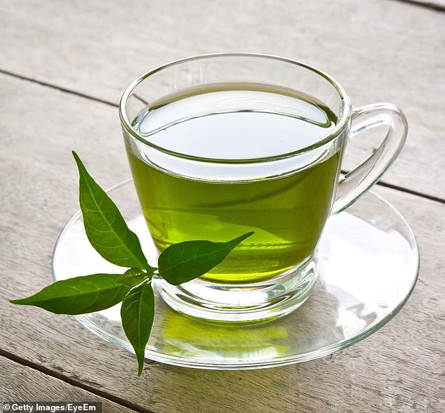 Green tea is packed with nutrients and antioxidants to aid digestion and protect and nourish the intestinal lining and fight against degenerative diseases (image file)
