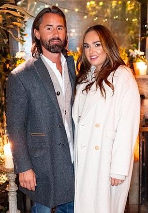Out shopping: Tamara Ecclestone with husband Jay Rutland