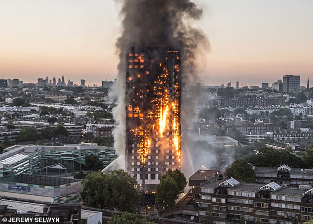 The Grenfell Tower blaze and the plight of its victims has shocked Britain and the Bonfire Night joke will also shock the nation