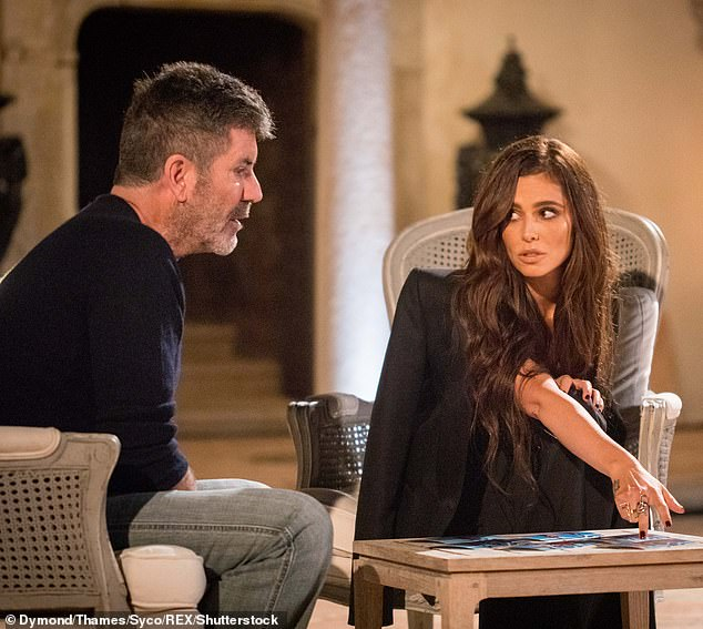 Regular: Cheryl was last on The X Factor last year as Simon's guest judge for the Judges' Houses round [pictured 2017]