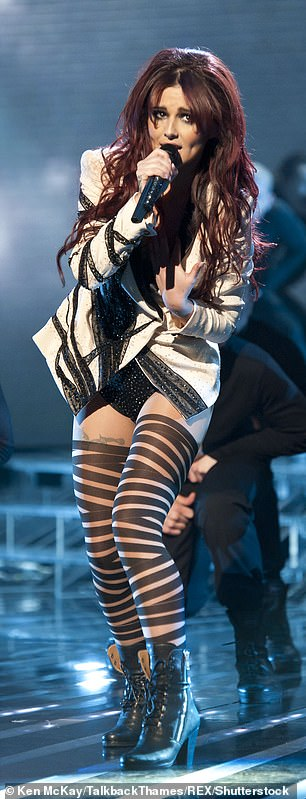 Show girl:The last single she released to date was also called Only Human, released in early 2015, and peaking at a disappointing number 70 on the UK singles chart; this was the only one of her nine solo singles not to go silver, gold or platinum [pictured 2010]
