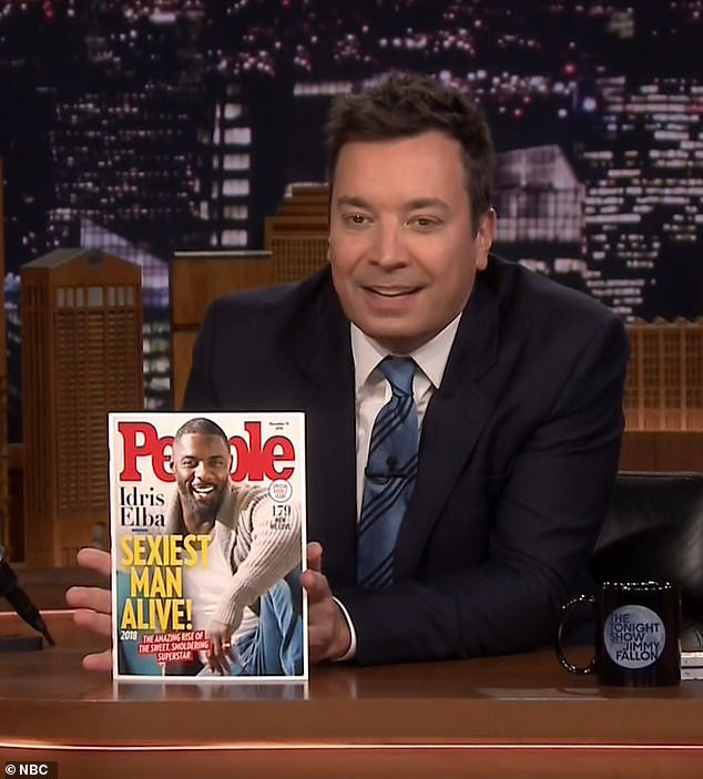 Big Revelation: The 44-year-old host also showed the cover of the eagerly awaited magazine