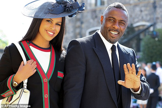 Ladylove: The talented British actor will soon disappear from the market as he plans his wedding with fiancé Sabrina Dhowre, 29, who accompanied him to Royal Wedding in May