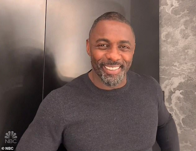 "Fan number one: Idris said to comedy presenter Fallon: ""My mother is very, very proud"""