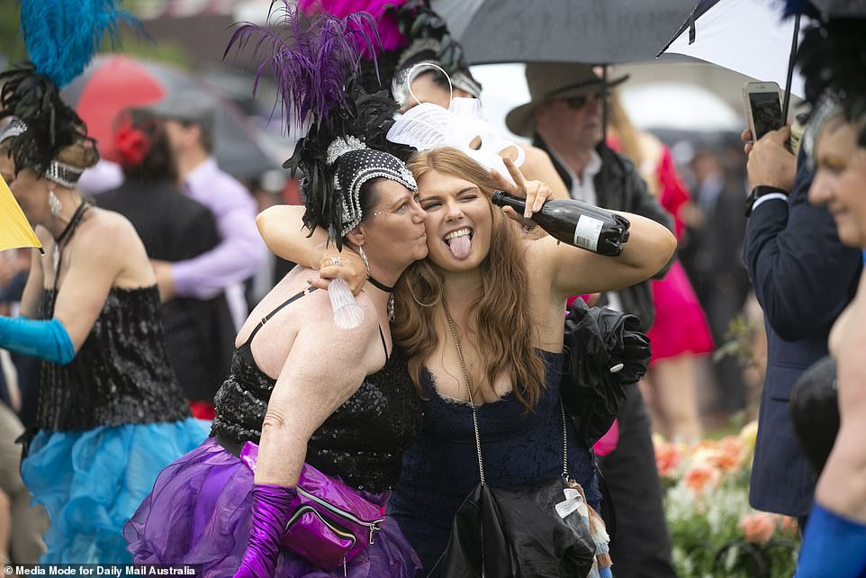 Throughout the day cause for celebration was widespread and champagne flowed freely around the track