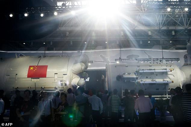 The 17-meter (55-foot) core module was one of the main attractions of the Biennale Airshow China in the southern coastal city of Zhuhai, the country's main aviation industry. At this size, however, it will be significantly smaller than the ISS