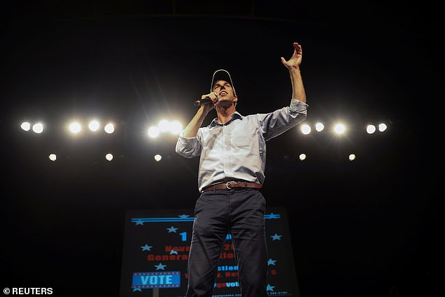 O'Rourke has emerged from relative obscurity to embody a Democrat party that hopes to galvanize the young and reach beyond its bases into America's heartlands