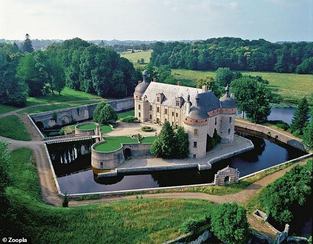 This impressive Renaissance chateau is in the south-central region of France
