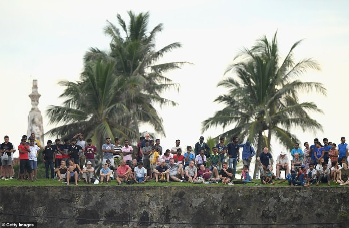 The picturesque Galle International Stadium is bordered on one side by ramparts and on two sides by the Indian Ocean