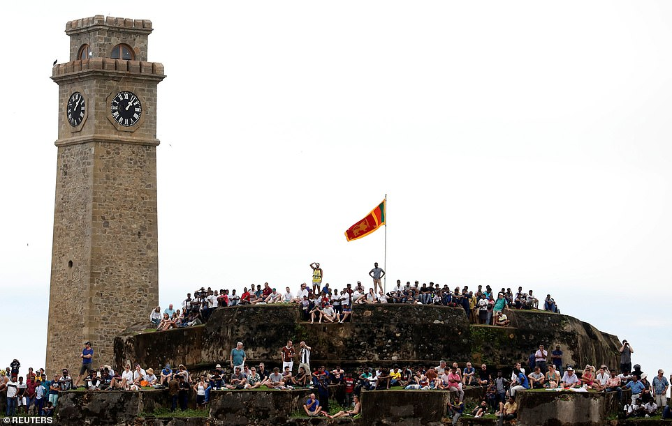 The fortress is located next to the Galle International Stadium and gives viewers an uninterrupted view of the action
