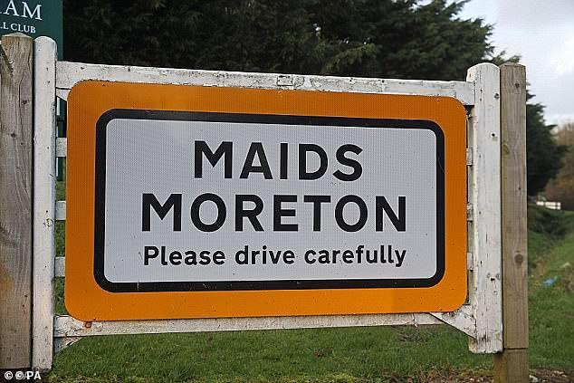 Locals described Mr Farquhar as a gentle but determined man and were baffled as his health suddenly deteriorated and he went into a nursing home just a few hundred yards from his house in Maids Moreton (pictured)