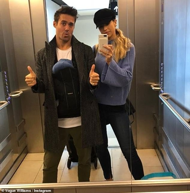Lucky them!The ex-Made In Chelsea star was delighted to reveal Theo was already sleeping through the night and has only cried at the top of his lungs 'twice in two months'