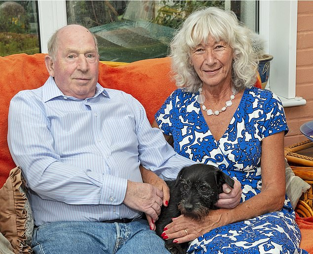 Annie and Robin Cox, from Hampshire, were left waiting more than eight weeks after reporting fraud on their account
