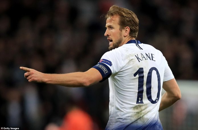 Kane rushed back to his own half to restart the game as quickly as possible to help his team find a winner on Tuesday