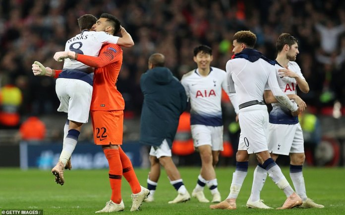 Tottenham is still very much alive but faces tough trials next weekend against Inter Milan and Barcelona