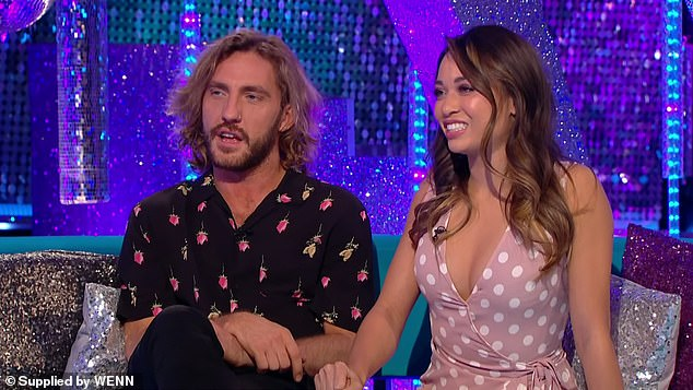 Oh dear: It comes after Neil allegedly likened Seann to a 'scab' and said he was 'delighted' his wife and the comedian were kicked off Strictly after the pair were caught kissing