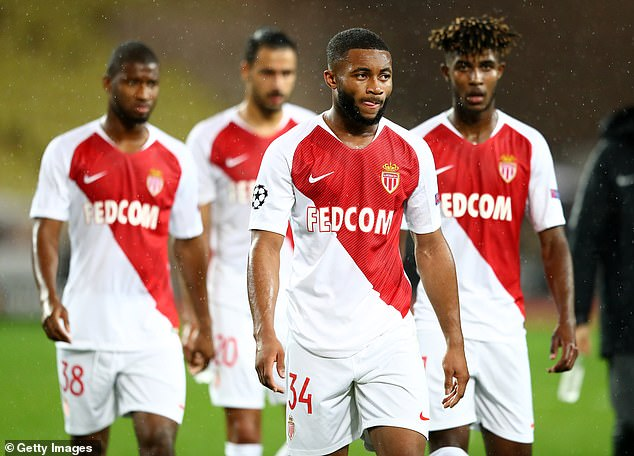 Monaco lost on Tuesday night in the group stage of the Champions League 0-4 against Club Bruges