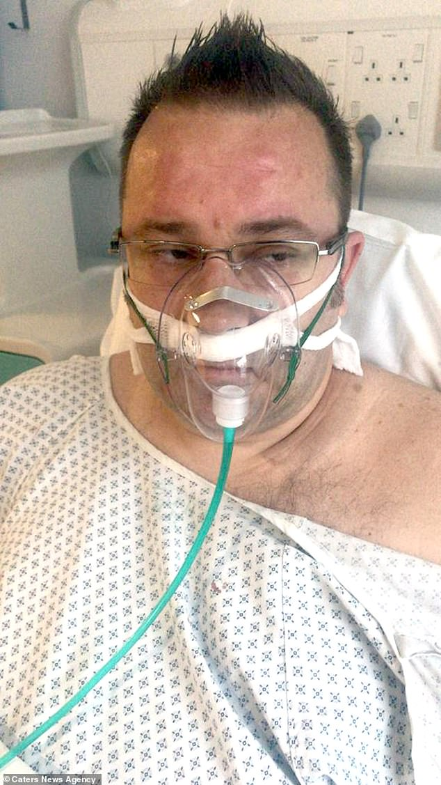 After a surgical procedure to remove some of the growth, the doctors told Mr. Wilkinson that he had adenocarcinoma that his surgeon had seen three times in 20 years. Mr. Wilkinson applied for proton beam therapy targeting the tumor at the NHS, but was denied