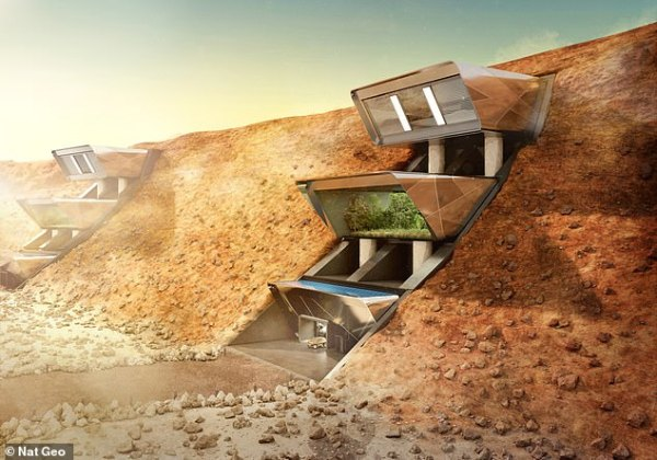 The £2.5 MILLION martian mansion: Mars's first homes will ...