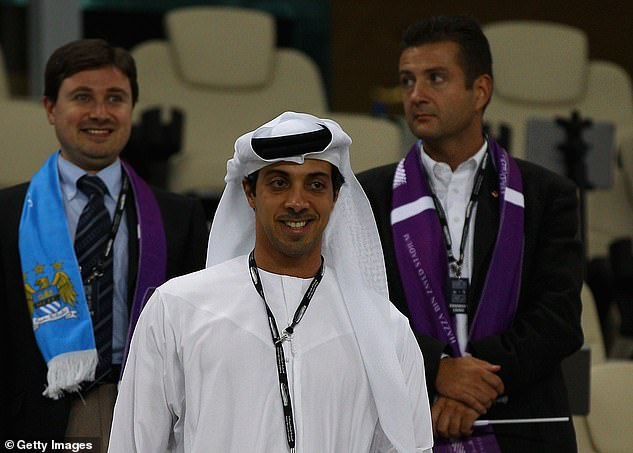 It is alleged that Sheik Mansour has paid a third party to save on image rights
