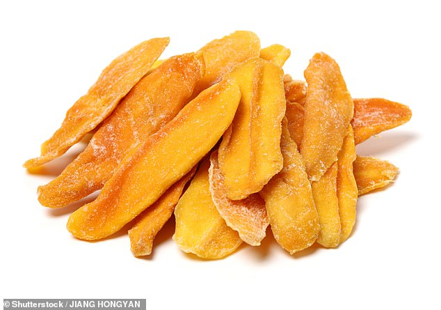 Mango is rich in soluble fiber that can balance blood sugar levels. It can calm a tense head, as it needs a lot of chewing