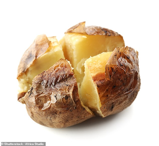 Baked potato can keep well in thermo flasks and the starch can reduce mid-afternoon sugar cravings