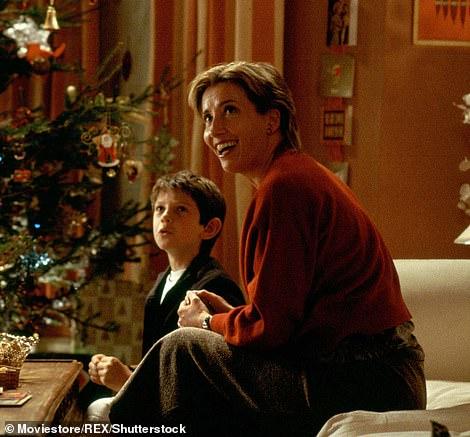 Huge success: One of Emma's biggest commercial successes came in 2003 in Love Actually, in which she plays the mother of two children, Karen, who suspects her husband of infidelity[ImBildnebenHughGrantderihrenBildschirmbruderspielte)[PicturedalongsideHughGrantwhoplayedheronscreenbrother)[imBildnebenHughGrantderihrenBildschirmbruderspielte)[picturedalongsideHughGrantwhoplayedheronscreenbrother)