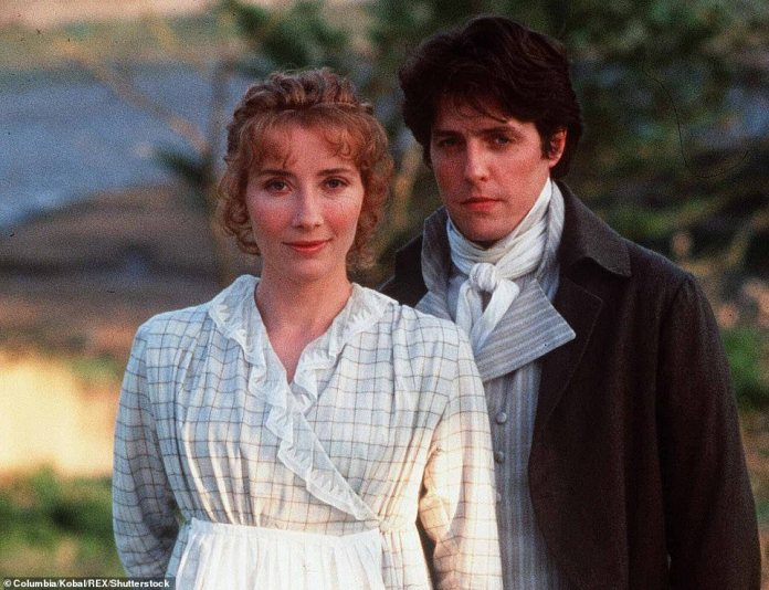 Woman with many talents! Emma also won the Academy Award for Best Adapted Screenplay after writing the screenplay for 1995's American drama Sense and Sensibility. The actress also starred as Elinor Dashwood in the movie