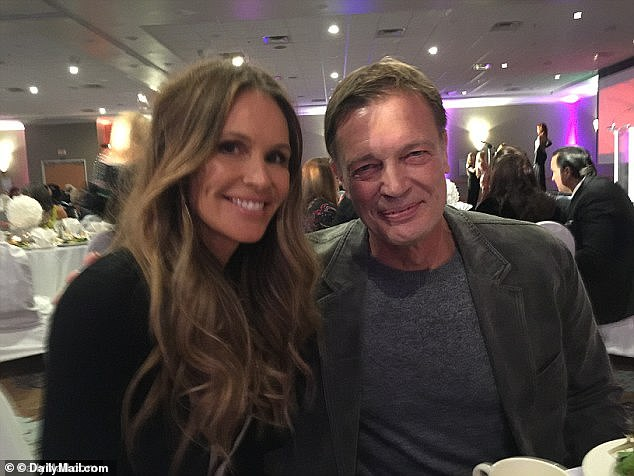 The disgraced gastroenterologist Andrew Wakefield, who is believed to be dating supermodel Elle Macpherson (both pictured), fears with his 1995 discredited theory that the measles, mumps and rubella vaccines are linked to bowel disease and autism from vaccines