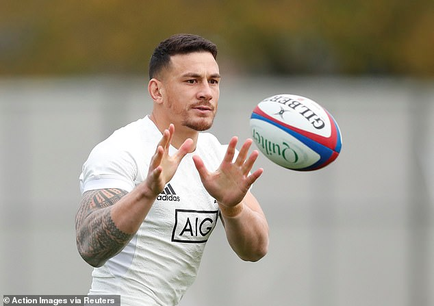 Sonny Bill Williams (pictured) will likely be able to hold his own in midfield for the All Blacks on Saturday