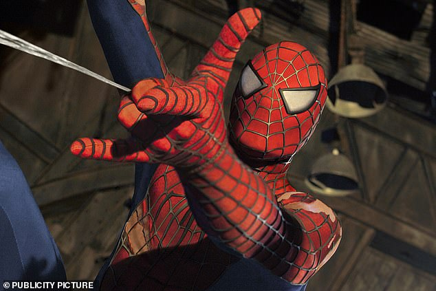 The breakthrough could enable researchers to make synthetic silk much easier. Shown is a still image of Spiderman 2
