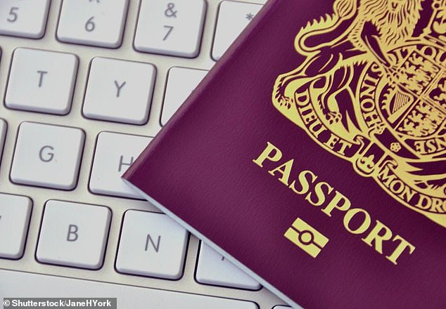 New service: Britons can now renew their passports digitally at the Post Office - but it comes at a premium