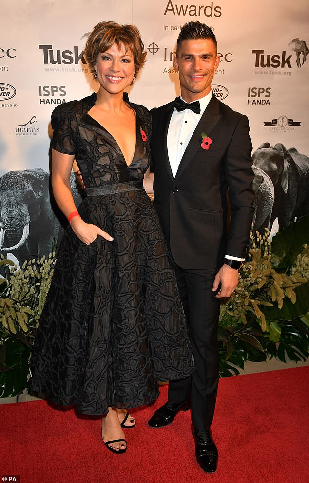 Putting in an appearance: The event attracted a whole host of high profile guests including news reader Kate Silverton and her Strictly Come Dancing partner Aljaz Skorjanec