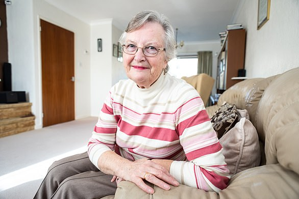 Barbara Thomas, 75 and Billingshurst, West Sussex, found herself unable to get the flu shot
