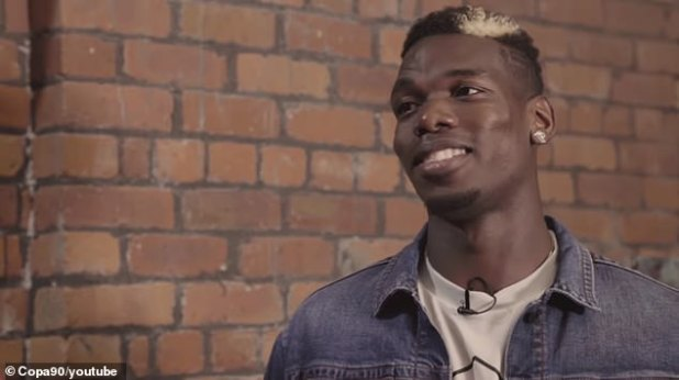 Pogba is also talking about his favorite musicians, choosing Lil Uzi Vert as a special favorite.