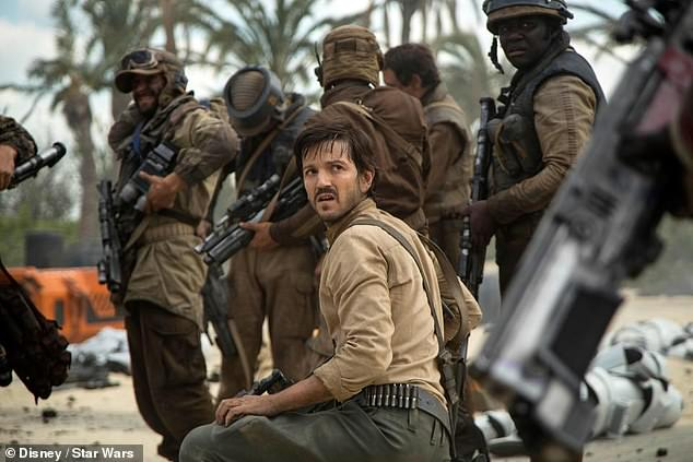 Diego Luna, here as rebellious spy Cassian Andor in Rogue One: A Star Wars story, will star in the prequel to the new Disney subscription service