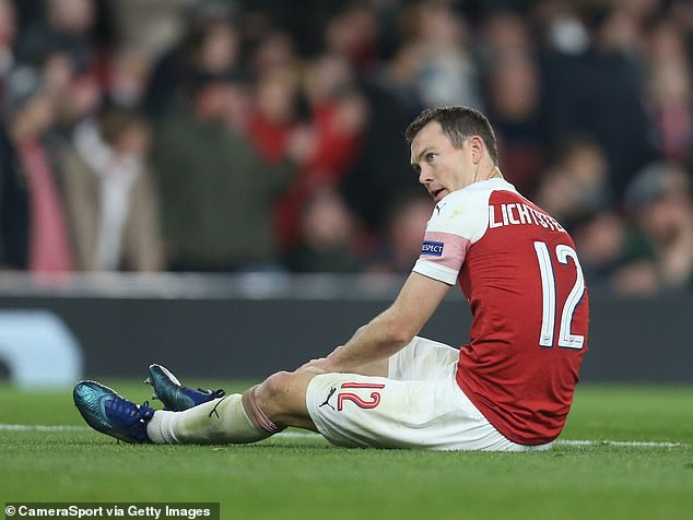 Defender Stephan Lichtsteiner faces four weeks after suffering a hamstring injury