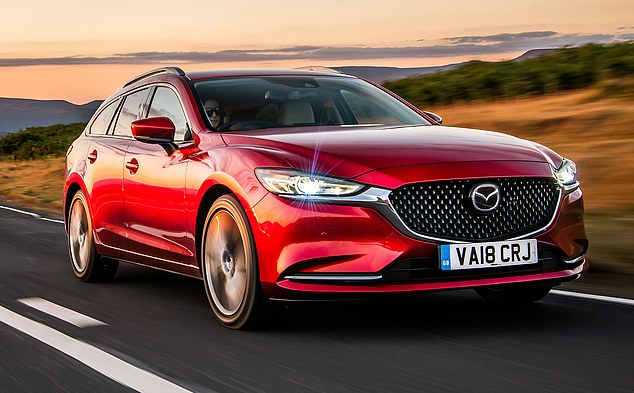 The Mazda6 Tourer is ideal for families with high load comfort and has a 2.2-liter 184-horsepower engine with a six-speed manual transmission