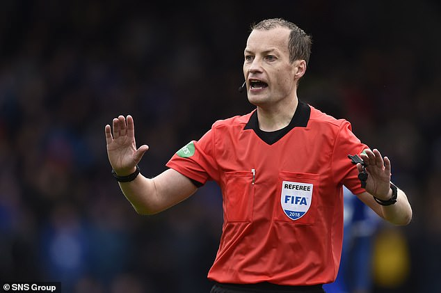 Rangers manager Gerrard insisted that he (Collum) is generally a good referee.