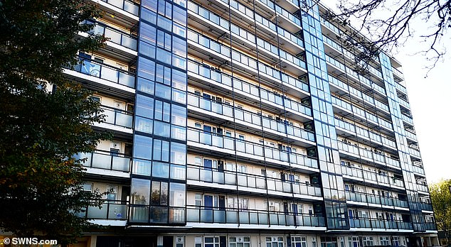 The deaths of Ms Poncova and Mr Taylor, who fell from a tower block in south London are being treated as suspicious after Scotland Yard detect a possible disturbance at the flat before the fall