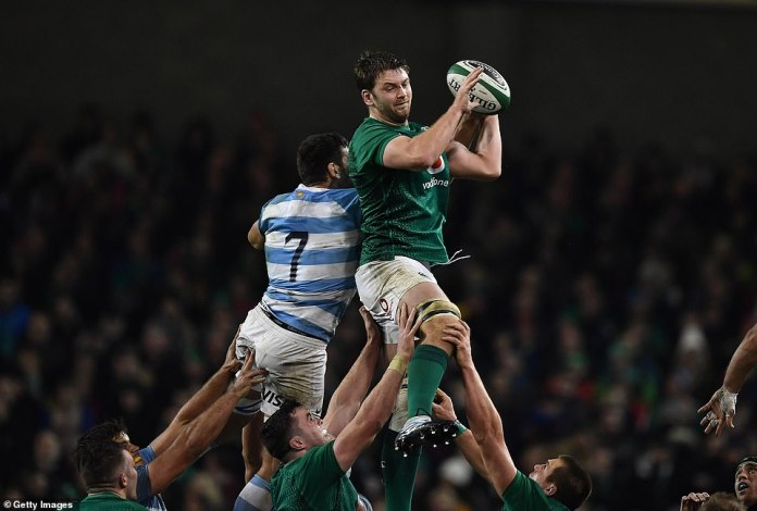 Ireland's Iain Henderson will face Argentinian Guido Petti in the fall