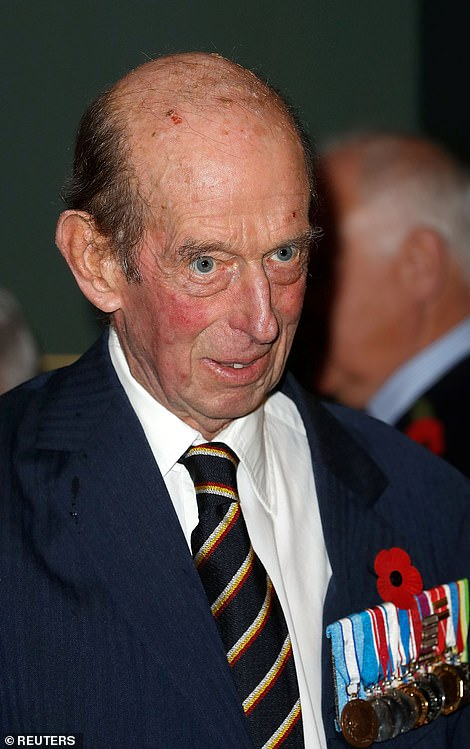Britain's Prince Edward, Duke of Kent attends the Royal British Legion Festival of Remembrance