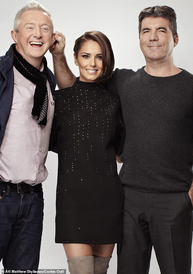 Comeback!Cheryl's comeback hit follows a four year music hiatus, she is pictured here with fellow X Factor judges Louis Walsh and Simon Cowell in 2014