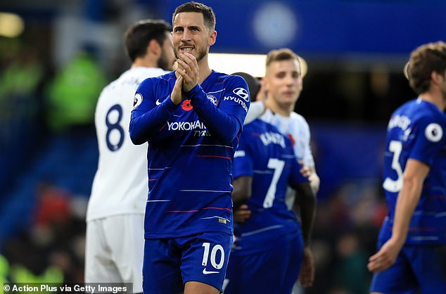 Eden Hazard has been one of the standout players in the Premier League this season